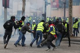 France: 12 Saturday of yellow vest protests