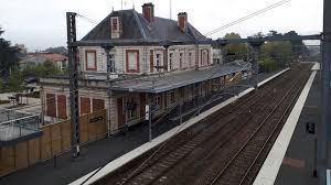 SNCF That's it, the Nantes Bordeaux train line modernization project has started