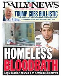 New York homeless striker Rudy Santos has been charged with four murders